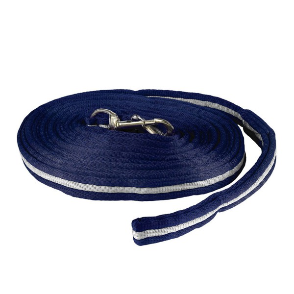 Корда мягкая Horze Orbit (Темно-синий/Светло-серый)