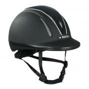 Шлем регулируемый Horze Pacific Defenze (Черный/Черный)
