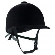 Шлем бархатный Horze InCase (Черный)