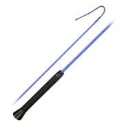 Хлыст выездковый двухцветный с резиновой ручкой Equiman