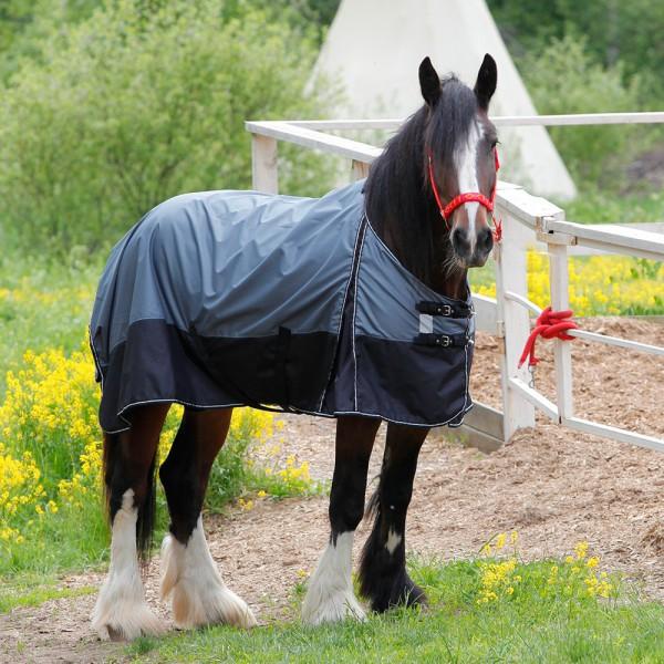Попона дождевая со съемным капором подкладка флис HORSE ONE BASE RAIN