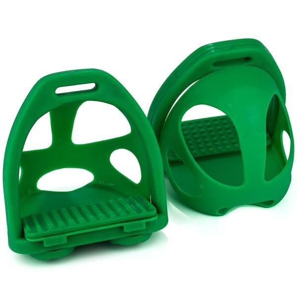 Стремена пластиковые с безопасными вставками EQUIMAN пара