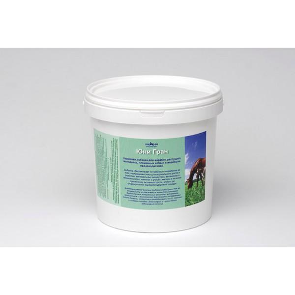 Юни Гран 2 кг для племенных лошадей и жеребят, с пробиотиком