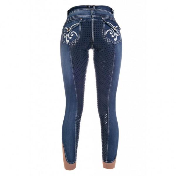 Бриджи Pasadena летние джинсовые полная силиконовая лея