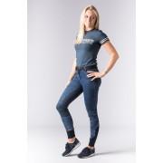 Бриджи женские Glam denim Full Grip джинсовые полная силиконовая лея