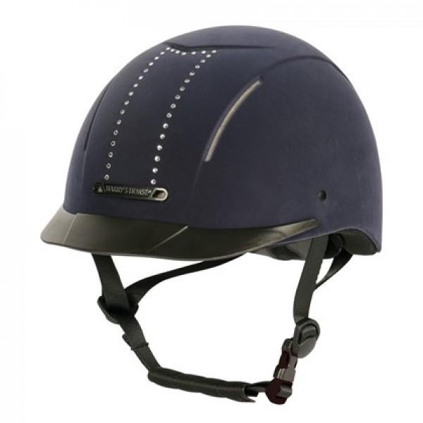 Шлем регулируемый стразы HarrysHorse