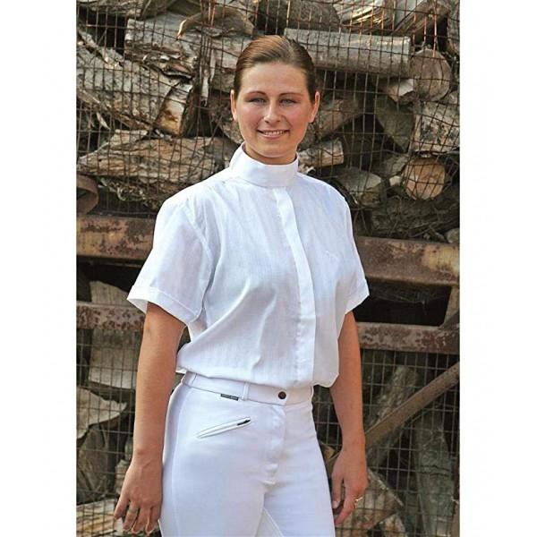 Рубашка турнирная Dobby женская короткий рукав Harrys Horse