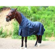 Попона дождевая с высокой шеей без подкладки