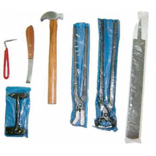 Набор инструментов для коваля 7 предметов