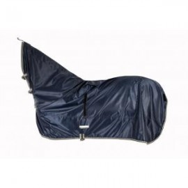 Попона дождевая с капором и вырезом под седло
