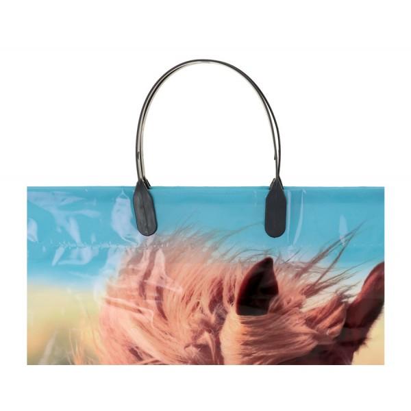 Пакет Конь полиэтиленовый с пластиковой ручкой