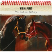 Cкетчбук А6 Bлюбленные лошади