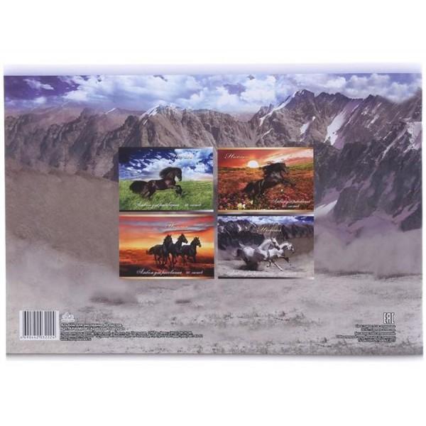 Альбом для рисования Арабские скакуны
