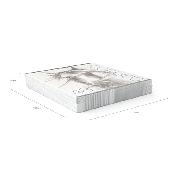 Тетрадь общая ученическая ErichKrause Wild Horse 48 листов клетка