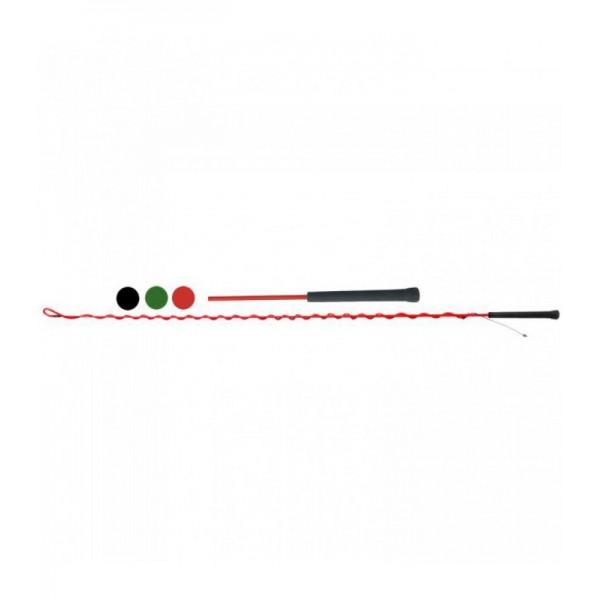 Бич Daslo шамбарьер с мягкой ручкой 160 см