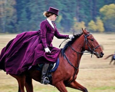 Дамская верховая езда – искусство или опасная прихоть?