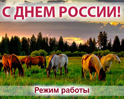 Режим работы конного магазина igogo.club на июньских праздниках 2018