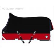 Попона дождевая с высокой шеей на нейлоновой подкладке MIU Equestrian Singapore 600 den Rip Stop