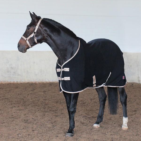 Попона флисовая HORSE ONE Basic Home с подпузными ремнями