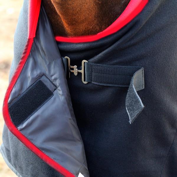 Попона флисовая HORSE ONE SOFT LINE с запахом на груди