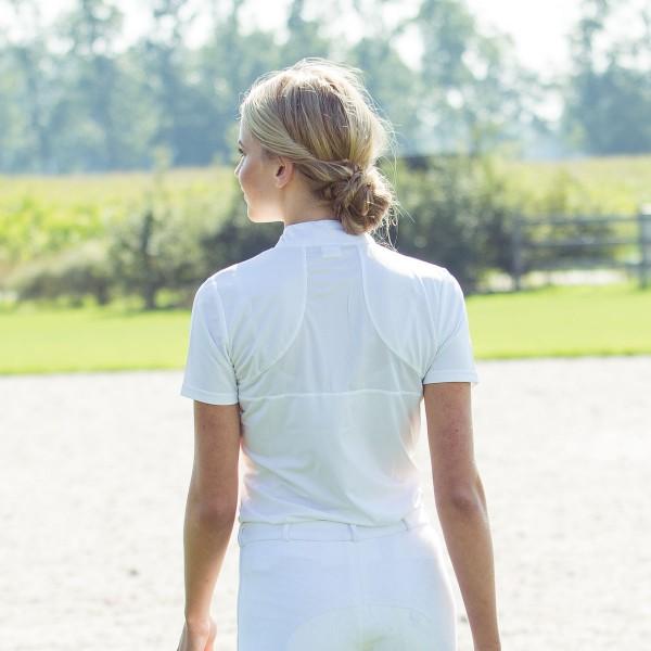 Блуза женская для выступлений Horze Pleated-front
