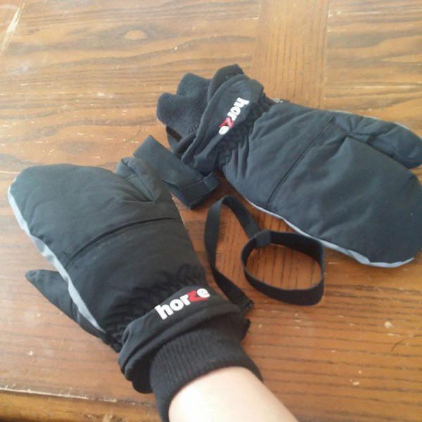 Перчатки 3-хпалые Horze
