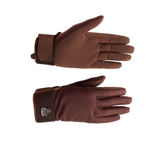 Перчатки зимние Horze Annie, софтшелл