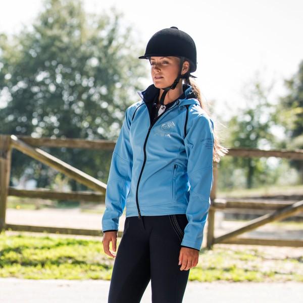Куртка женская 2-в-1 Minka, софтшелл Horze Crescendo