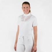 Блуза женская для выступлений с кружевом Horze