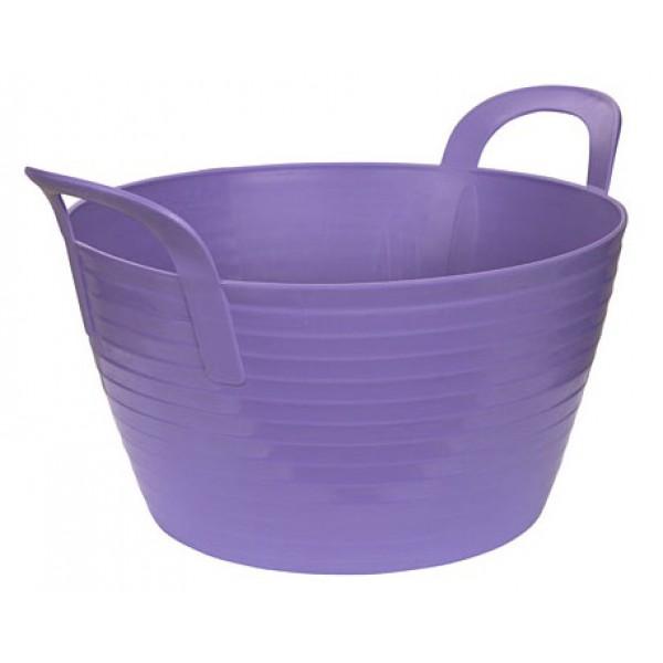 Ведро-кормушка Kerbl фиолетовое 12л